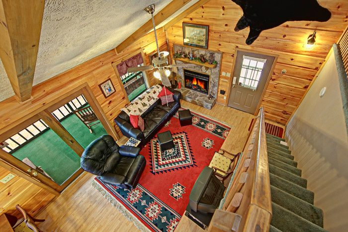 Cabin with Recliner - Sleepy Ridge