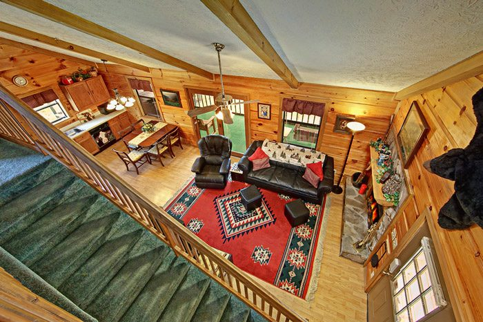 Cabin with Open Floor Plan - Sleepy Ridge
