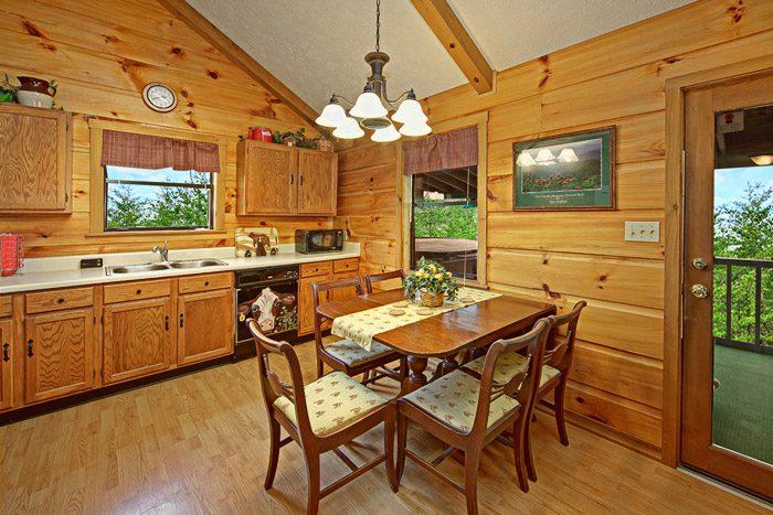 Dining Table in Kitchen - Sleepy Ridge