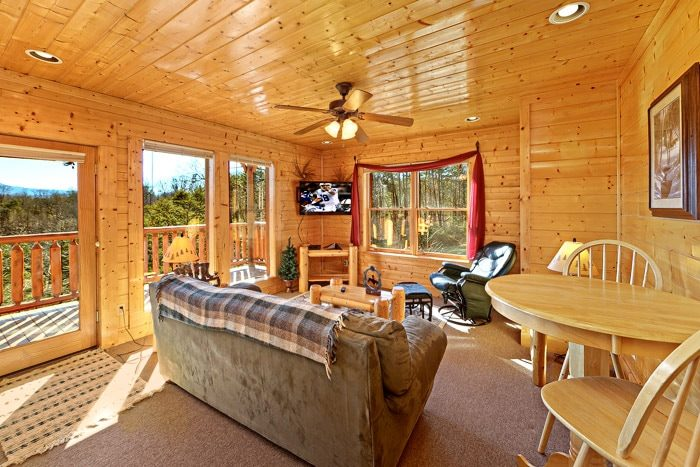 Cabin with Den - Smokies View
