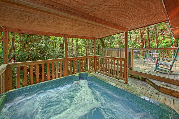 Cabin with Private Hot Tub - Smoky Mountain High