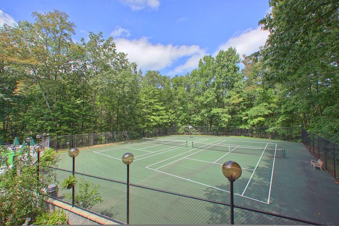 Cabin with Tennis Court Access - Smoky Mountain High