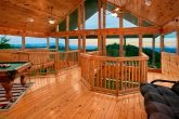 Cabin with game room and mountain views