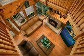 4 bedroom cabin with loft game room