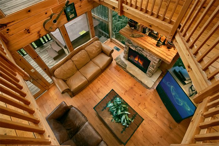 4 bedroom cabin with loft game room - Smoky Mountain Melody