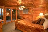 4 bedroom cabin with private deck access