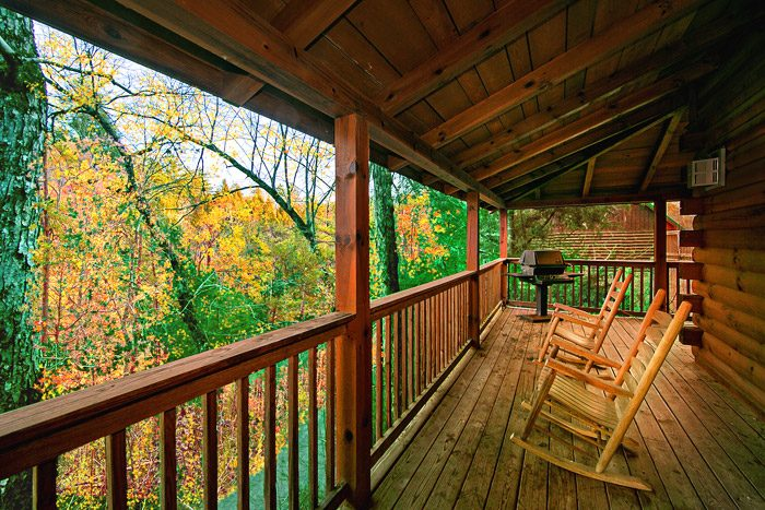 Cabin with Partial Wrap Around Deck - Southern Charm