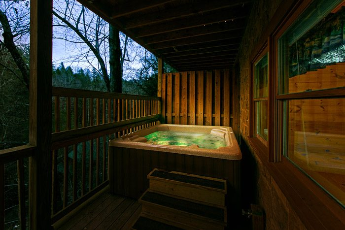 Private Hot Tub - Southern Charm