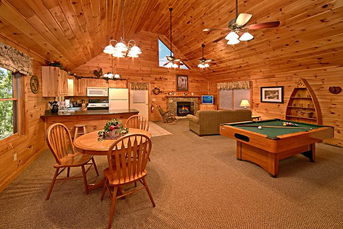 One Level Cabin - Southern Lights