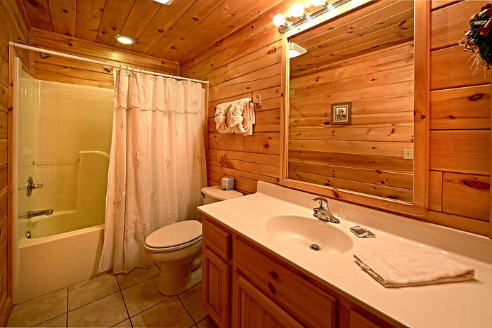 Bathroom with Shower/Tub Combo - Southern Lights