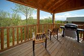 Smoky Mountain Cabin Rental with Grill