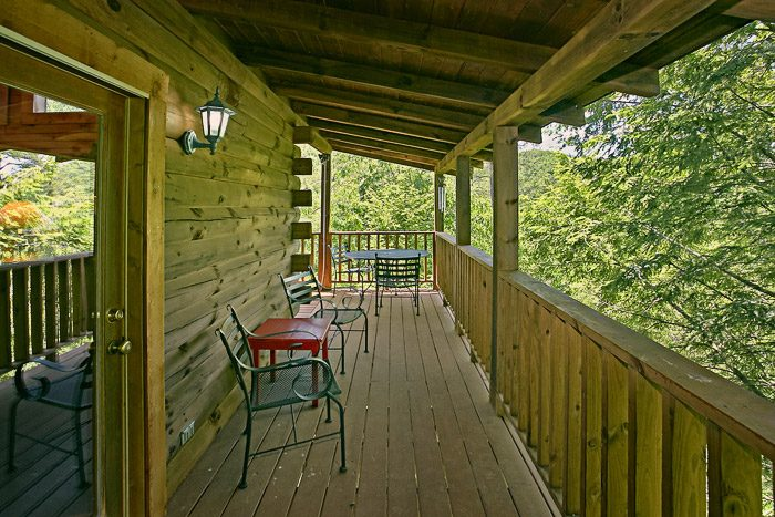 Deck with Outside Furniture - Spirit of the Valley