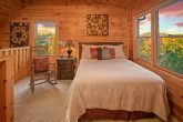 Honeymoon cabin with Queen bed and sleeper sofa
