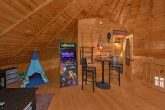 Game Room with Full Bath, Arcade Game and Futon