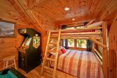 Cabin with bunk beds