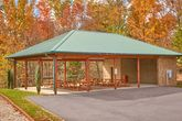 3 bedroom cabin with park picnic area