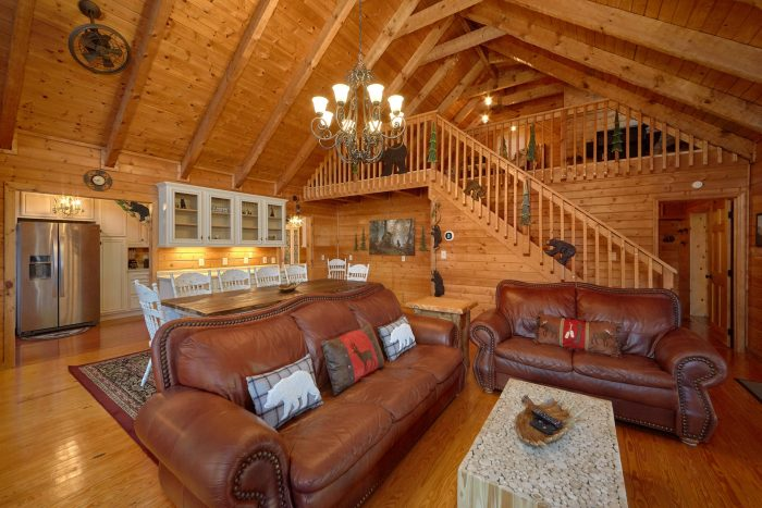 Beauitful 3 Bedroom Cabin in Dogwood Farms - Sugar Bear View