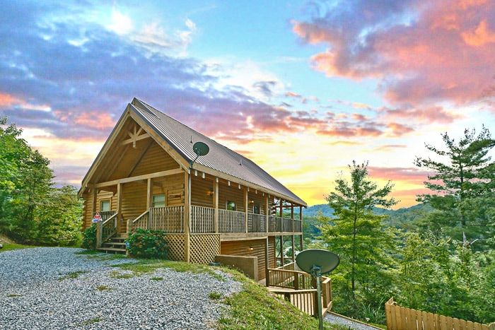Cabin rental near great smoky mountain national park for Cabin rentals in tennessee mountains
