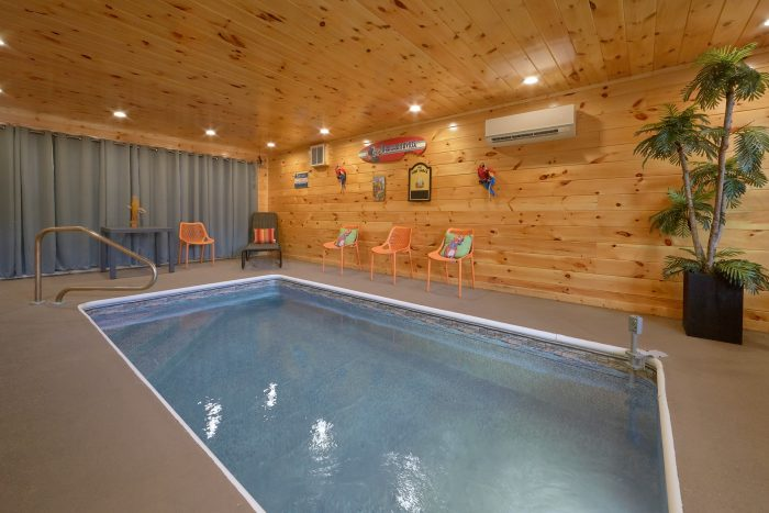 Quot Swimming Hole Quot 2 Bedroom Indoor Pool Cabin Near Dollywood