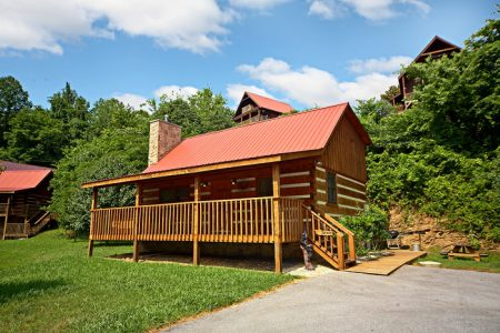 A Simple Pleasure: 2 Bedroom Sevierville Cabin Rental