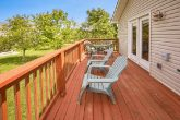 Vacation home with deck