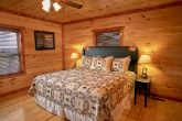 Pigeon Forge Cabin with Luxurious King Bedrooms