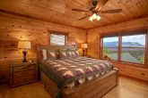 Smoky Mountain Cabin with Views from the Bedroom
