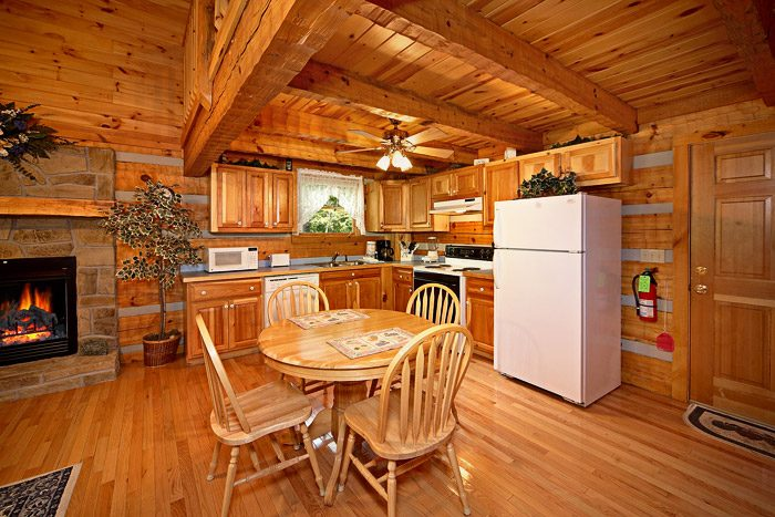 Cabin with Fully Equipped Kitchen - This Away