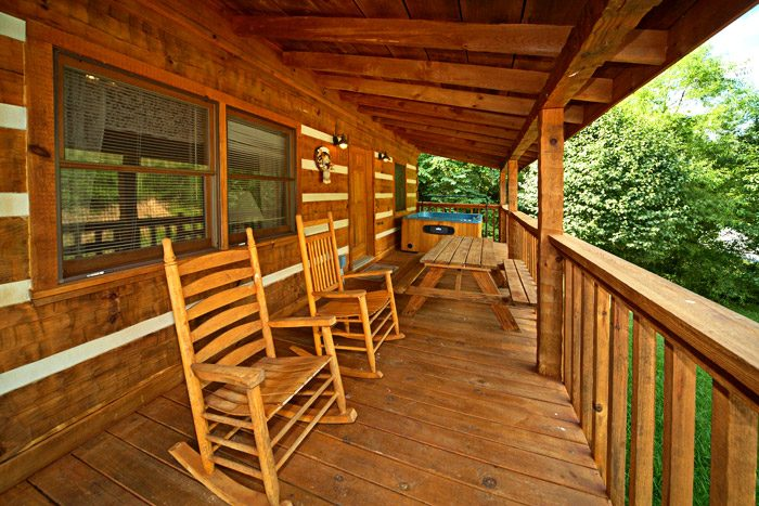 Deck with Rocking Chairs - This Away