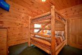 Cabin with 3 sets of queen bunk beds