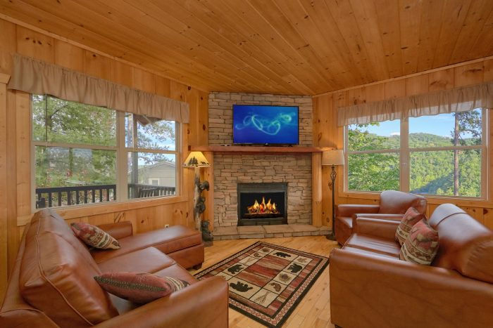 Cabin with Living Room with Views - TipTop