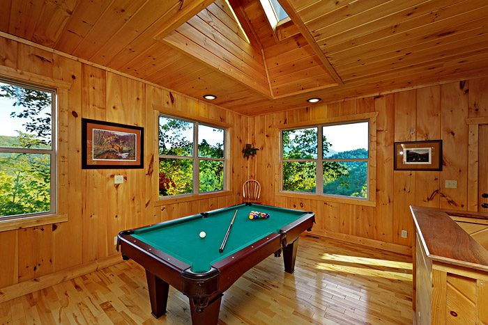Pool Table in Main Level - TipTop