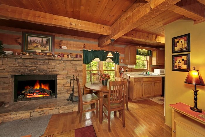 Secluded Cabin In Wears Valley Smokies Honeymoon Cabin