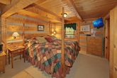 1 Bedroom Cabin with a Rustic King Bedroom