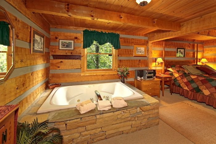 1 Bedroom Wears Valley Cabin with a Jacuzzi Tub - Top of the Mountain