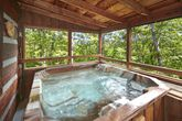 1 Bedroom Smoky Mountain Cabin with a Hot Tub
