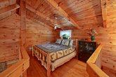 Queen Bed in Cabin Loft