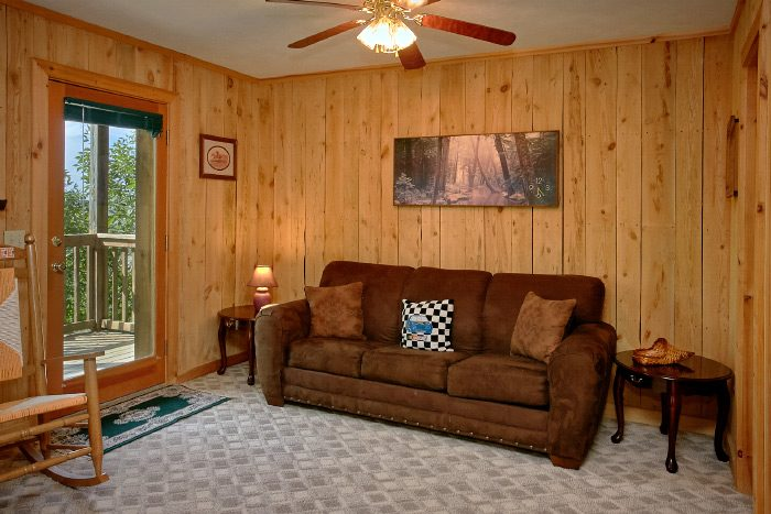 Cabin with Game Room, Pool Table and Sofa - Valley View