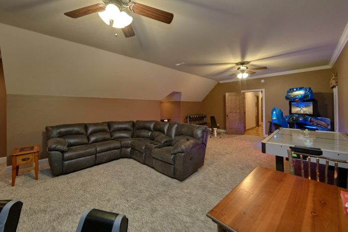 Game room with Arcades, Air hockey and Bunk beds - Villa at Laurel Cove