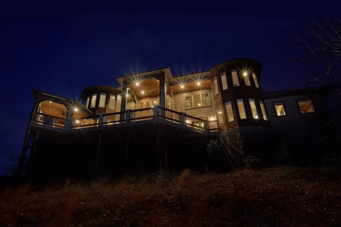 Amazing Cabin Rental with views of the Smokies - Villa at Laurel Cove