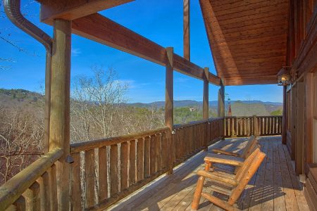 Awesome Views: 6 Bedroom Sevierville Cabin Rental