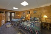 Premium Cabin with 2 Queen Beds and Bath