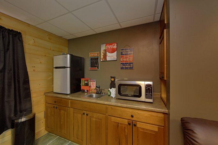 Theater Room with Fridge and Popcorn Machine - Wilderness Lodge