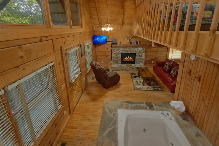 Wildflower Haven 1 Bedroom Pigeon Forge Cabin Rental